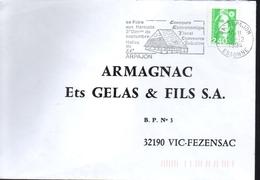 FRANCE   Lettre  Arpajon  Foire Aux Haricots Legumes