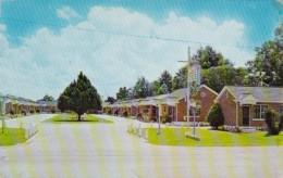 Mississippi Hattiesburg Motel Dixie 1961 - Hattiesburg