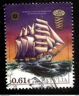 LATVIA Lettland ,Lettonia 2016 OLD SAILING SHIPS HISTORY 19ct -  Used (0) - Latvia