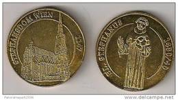 MONNAIE DE PARIS - STEPHANSDOM WIEN - EMISSION PARALELE - Monnaie De Paris