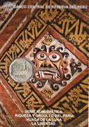 Lote PM2014-2, Peru, 2014, Moneda, Coin, Folder, 1 N Sol, Huaca De La Luna, Indigenous Theme - Perú