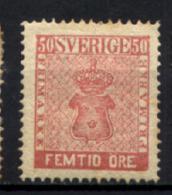 Svezia 1858 Unif.11 */MH VF/F