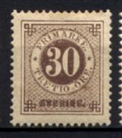 Svezia 1877 Unif.23/I */MH VF/F