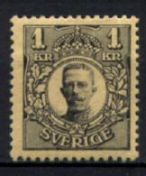 Svezia 1910 Unif.60 */MH VF/F