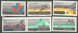 Sc. #757-62 Commonwealth Games Set Used 1978 K602 - 1952-.... Règne D'Elizabeth II