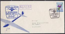 "Yugoslavia 27.VII.1963 Air Club ""Varazdin"" - Varteks Cup A-2, Airmail Cover - 1945-1992 Sozialistische Föderative Republik Jugoslawien"