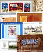 EXPO 1990 Israel 8 Blocks 7 10 18 23 30 42 44 41 Imp. ** 138€ Glasfenster Hojas Art Blocs M/s Philatelic Sheets Bf - Imperforates, Proofs & Errors