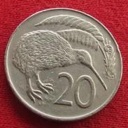New Zealand 20 Cents 1973 KM# 36.1 *V1 Nova Zelandia Nuova Zelanda Nouvelle Zelande - Neuseeland