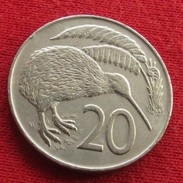 New Zealand 20 Cents 1972 KM# 36.1 Nova Zelandia Nuova Zelanda Nouvelle Zelande - New Zealand