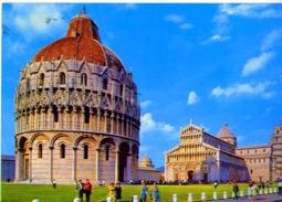 Pisa - Piazza Dei Miracoli - 72 - Formato Grande Viaggiata - E - Pisa