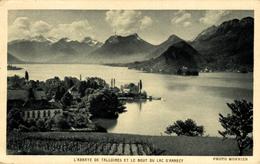 ANNECY 74 TALLOIRES L´Abbaye De Talloires Et Le Bout Du Lac D´Annecy - Annecy