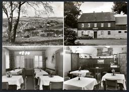 9207 - Alte MBK Ansichtskarte - Elterlein - Gasthaus Gaststätte Jägersruh - Gel 1980 - Fotoverlag - Hoffmann - Elterlein