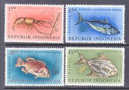 INDONESIA  589-92   *   FISHES - Indonesia