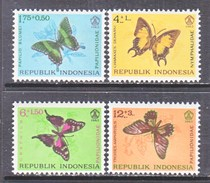 INDONESIA  B 156-9  *  BUTTERFLIES - Indonesia