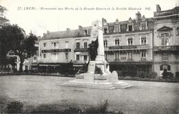 Laval - Monument Aux Morts De La Grande Guerre Et La Société Générale - Carte NG. N° 47, Non Circulée - Monuments Aux Morts
