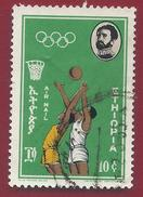 1964 - Basketball - Olympic Games - Tokyo- Mi:ET 480 - Used - Ethiopie