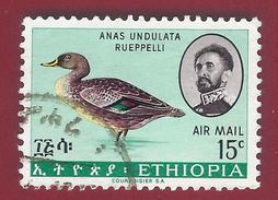 1967 - Northern Yellow-billed Duck (Anas Undulata Rueppelli) - Mi:ET 565 -used - Äthiopien