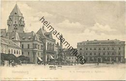 Korneuburg - K. K. Kreisgericht Und Rathaus - Verlag Sperling Wien III - Gel. 1904 - Korneuburg