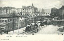 CPA GENEVE Quai De La Poste - GE Genève