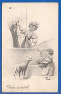 Fantaisie; Ostern; Christos, Cristos A Inviat; Verlag Vienne Nr 4025 - Ostern