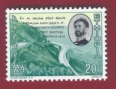 1972 - 1st Meeting Of UN Security Council In Africa - Mi:ET 695 - ** - MNH - Etiopia