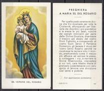 Madonna : SS. Vergine Del Rosario - Santini