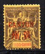 Canton : N° 14 Neuf X MH , Cote : 40,00 € - Canton (1901-1922)