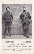 Liège - Houche Liétar Voyage à Pied Liège Paris Liège 1907 - Liege