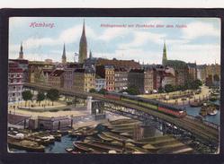 Old/Antique? Postcard Of Rodingamarkt Mit Hohbahn Uber Dem Hafen,Hamburg, Germany,Posted With Stamp,N58. - Germany