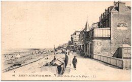 14 SAINT-AUBIN-sur-MER - L'Hotel Belle-Vue Et La Digue - Saint Aubin