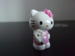 Figurine Hello Kitty,Sanrio, BIP HOLLAND, Plastique,fleur, Noeud - Autres