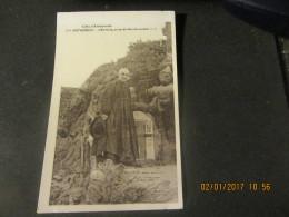 Cpa ROTHENEUF (35) L'Ermite, Auteur Des Rochers Sculptés - Rotheneuf