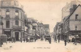 10 - AUBE / Troyes - Rue Thiers - Animée - Troyes