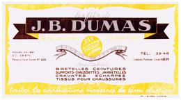 Ch JB D/Chaussettes J.B.Dumas  (N= 1) - Buvards, Protège-cahiers Illustrés