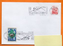 63 VOLVIC  LA PIERRE ET L'EAU     12 / 11 / 2004 Lettre Entière N° W 644 - Postmark Collection (Covers)