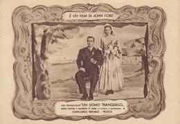 "229- ATTORI CINEMATOGRAFICI ""JOHN WAYNE E MAUREEN O'HARA"" - NEL FILM ""UN UOMO TRANQUILLO"" - Artiesten"
