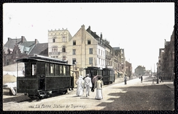 1920 LA PANNE ** STATION DU TRAMWAY ** édit. Aqua Photo Paris - De Panne