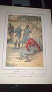 Affiche (dessin) - Troupes Coloniales 1892......officier D'infanterie De Marine, Spahi Soudanais, Tirailleur Dahomeens. - Affiches