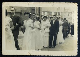 Photographie Studio Janvier Tréguier Mariage Vers 1960  NCL29 - Lieux