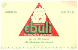 C CF/Buvard Confection Ebuli (N= 1) - Buvards, Protège-cahiers Illustrés