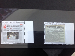 Namibië / Namibia - Postfris / MNH - Complete Set Allgemeine Zeitung 2016 NEW! - Namibië (1990- ...)