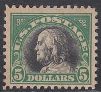 UNITED STATES    SCOTT NO. 524    MNH    YEAR  1918 - Unused Stamps