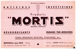 Buvard (4)   Dératisation Mortis - D