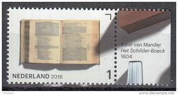 Nederland - Jaar Van Het Boek - Karel Van Mander - Het Schilder-Boeck - MNH - NVPH 3455 - Ecrivains
