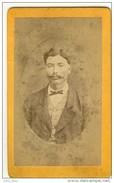 Jeune Bourgeois Ripagérien Au XIXème . CDV De Gantier , Photographe à Rive-de-Gier . - Old (before 1900)