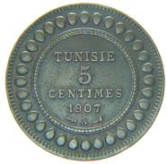 [NC] TUNISIA - TUNISIE - 5 CENTIMES 1907 A - Tunisia