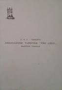 """Invito Della Pro Loco Di Martina Franca Per La Conferenza Di Paolo Grassi Direttore Del """"Piccolo Teatro"""" Di Milano - 196 - Vecchi Documenti"""