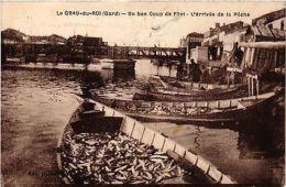 CPA  Le Grau-du-Roi (Gard) - Un Bon Coup De Fillet - L'Arrivée De La...(299795) - Non Classificati