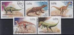 CUBA 1999 PREHISTORICOS USADO - Sellos