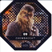 09 CHEWBACCA 2016 STAR WARS LECLERC COSMIC SHELLS - Episodio II